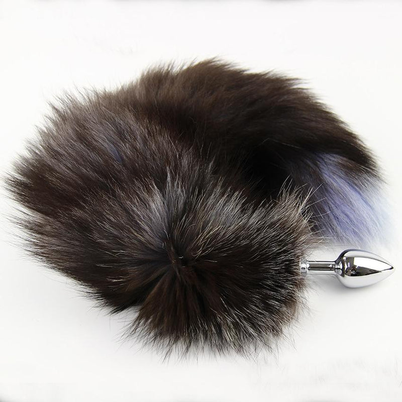 Steel Plug Fox Tail