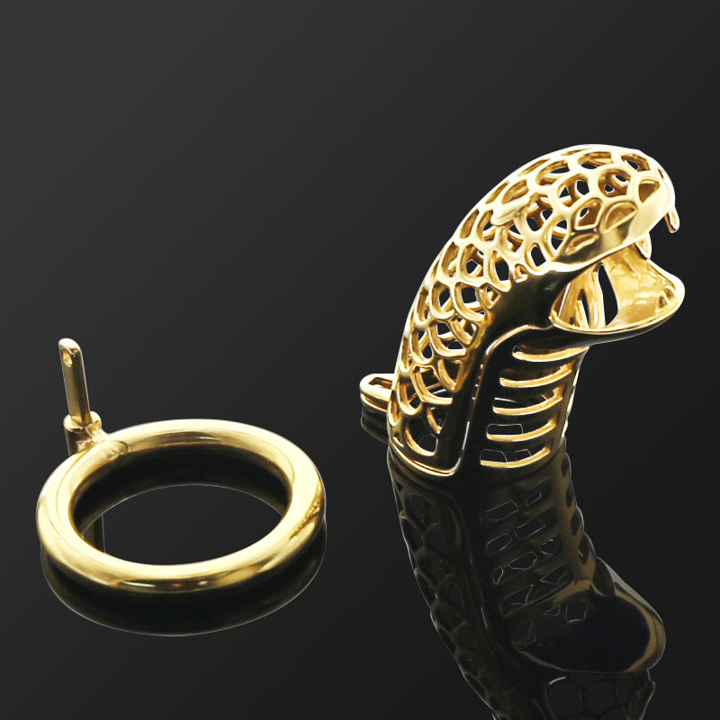 cobra chastity device