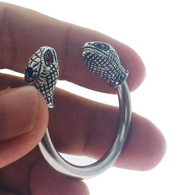 Cobra snake chastity cock ring