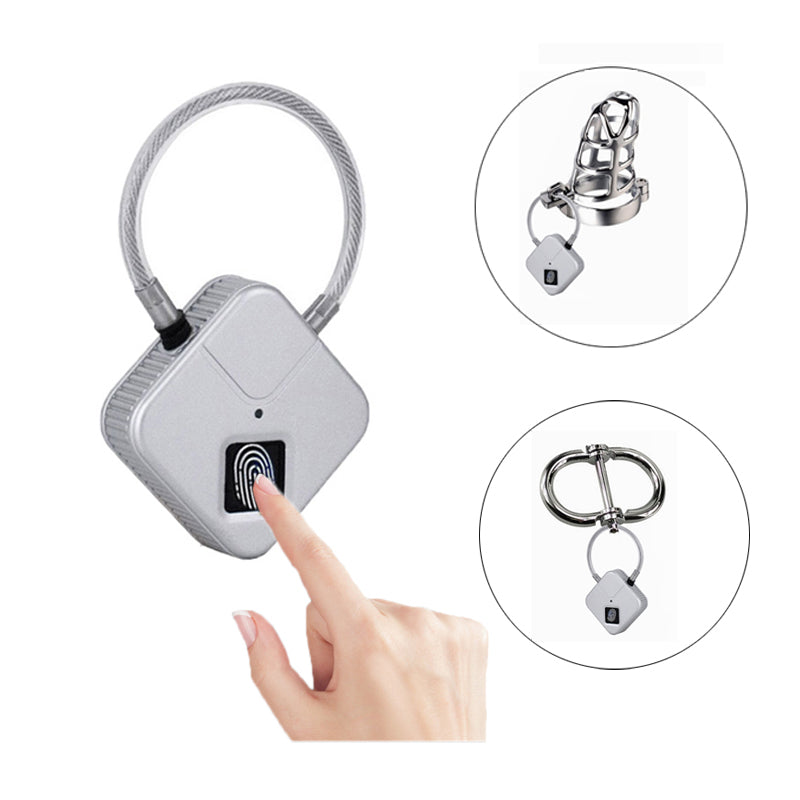 Finger print chastity lock
