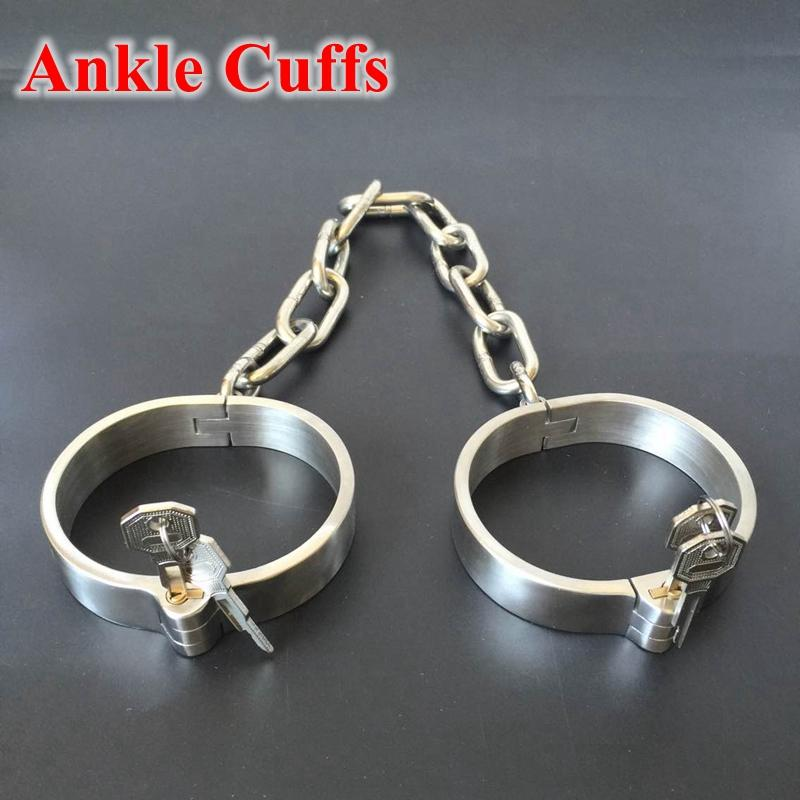 Extreme Steel BDSM Slave Shackles Bondage Set