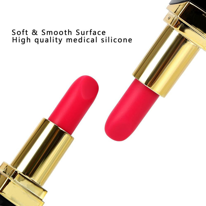 Omysky Super Discreet Silicone Lipstick Vibrator with Charged with 10 Modes