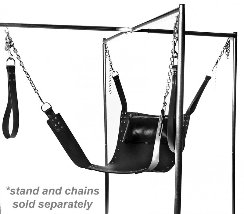sex leather sling swing