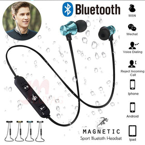 Welcome Gift: Magnetic Wireless Bluetooth Earphones With Mic
