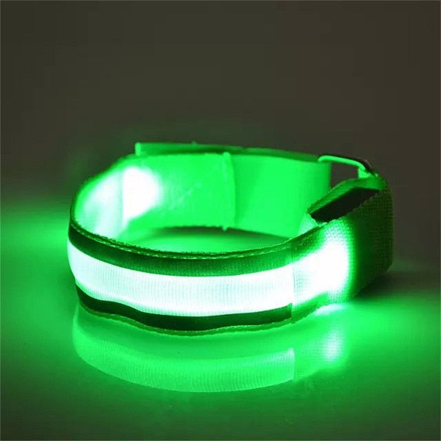 🌌🏃LED Reflective Armband Jog & Play Safe At Night🏃🌌