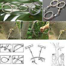 Load image into Gallery viewer, Outdoor Survival Wire Chain Saw