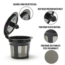 Load image into Gallery viewer, Refillable Coffee K-Cup Capsule Reusable Coffee Filter Holder