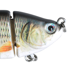 Load image into Gallery viewer, Piscifun Fishing Lure 10cm 20g 3D Eyes 6-Segment Lifelike Fishing Hard Lure Crankbait With 2 Hook Fishing Baits Pesca Cebo