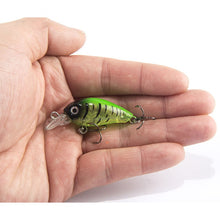 Load image into Gallery viewer, Japanese Style Mini Fishing 4cm Crankbait