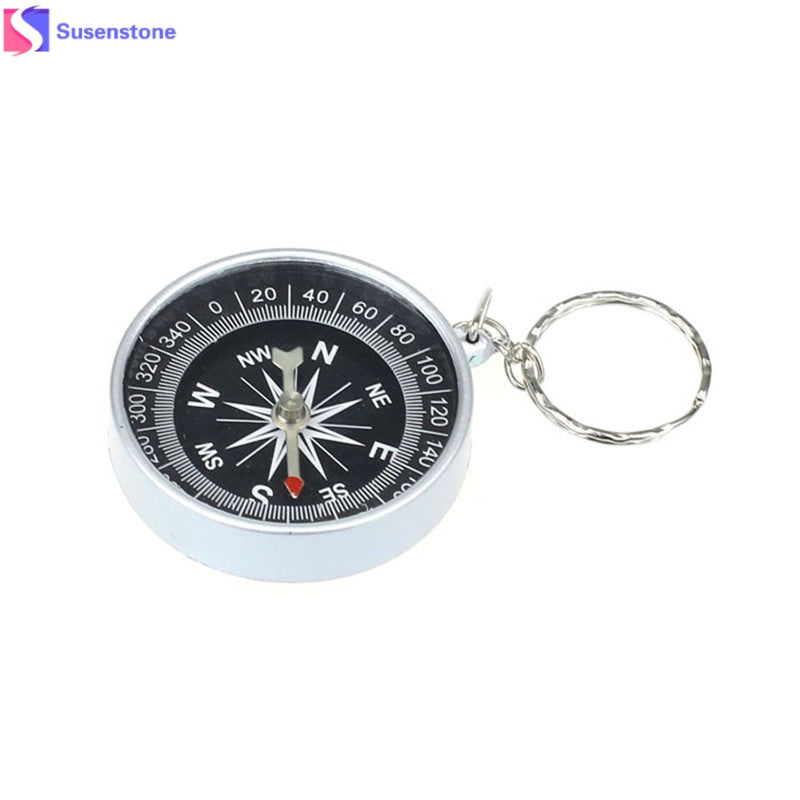 🧭 Compass Keychain for the Hiker in Your Life ⛰️