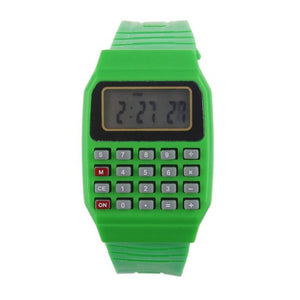 Silicone Calculator Watch