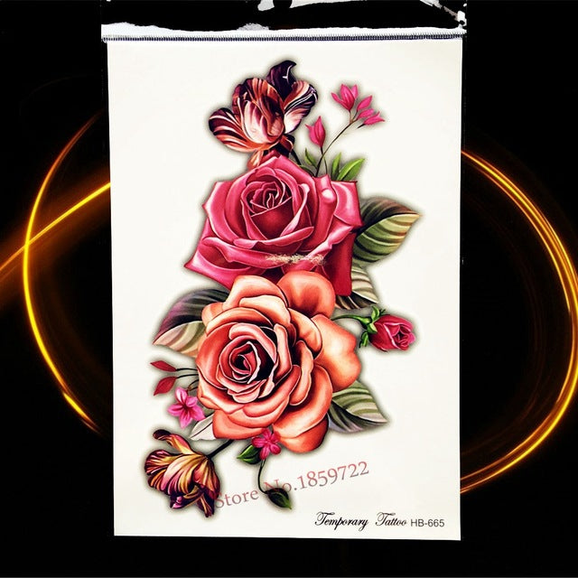 Realistic Detailed Temporary Tattoos