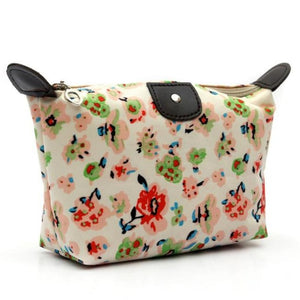 Bolsa Maquillaje Cosmetic Bag For Make Up Women Travel Pouch Organizer Printing Zipper Makeup Bag #121