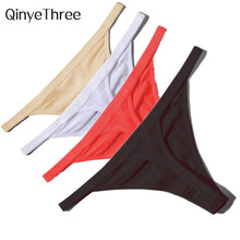 Load image into Gallery viewer, Cotton Low Waist G String Thong