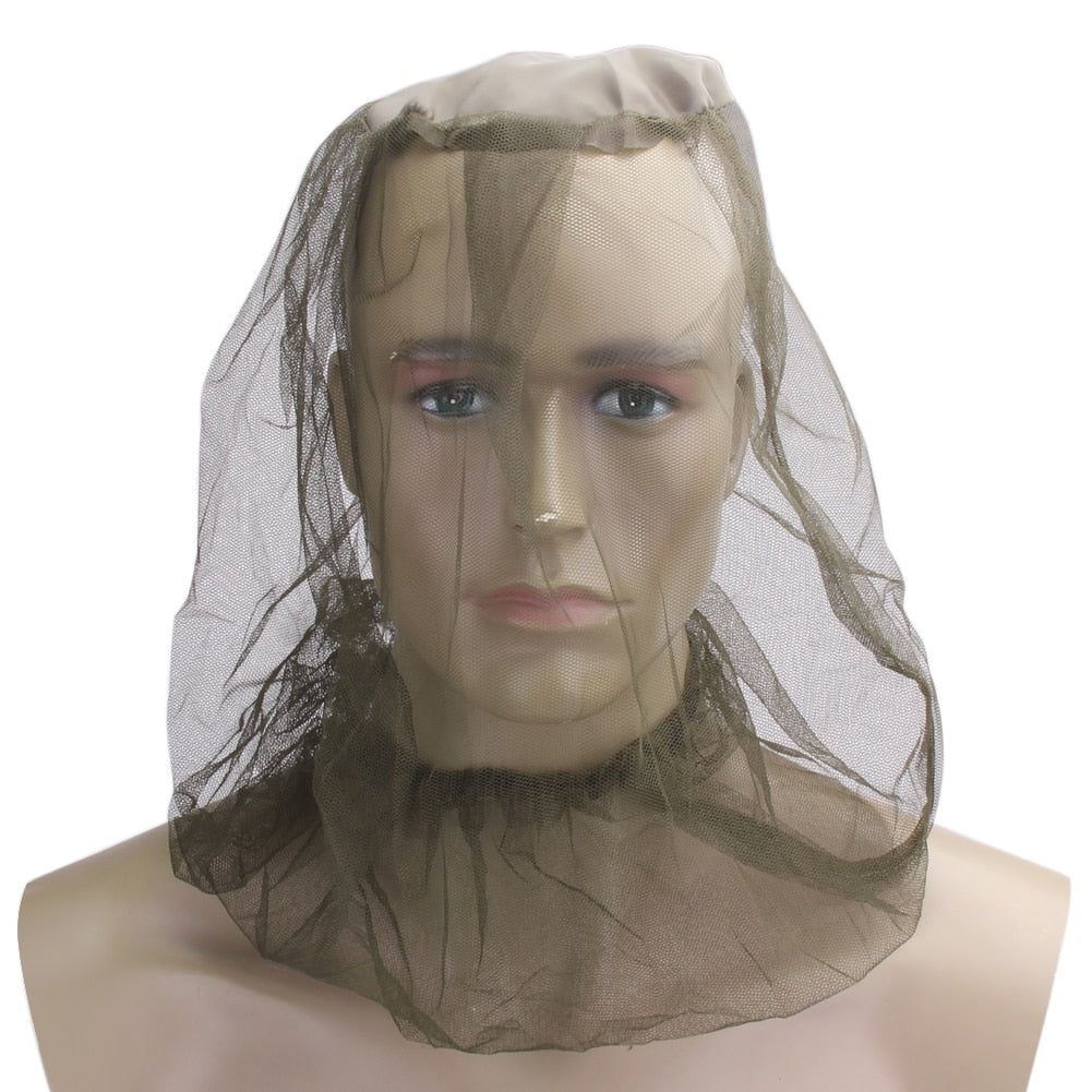 👰 Wedding Veil + Mosquito Net Head Bag 👰