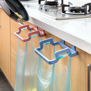 Kitchen Cabinet Hanging Trash Bag Holder