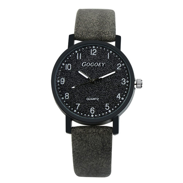 Gogoey Brand Women's Watches Fashion Leather Wrist Watch Women Watches Ladies Watch Clock Mujer Bayan Kol Saati Montre Feminino