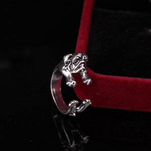 Pug Dog Adjustable Ring