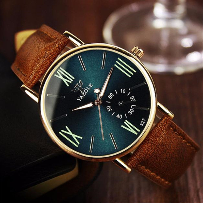 A Casual (yet elegant) Business Watch with a Leather Band