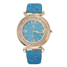 Load image into Gallery viewer, Luxury Crystal Rhinestone Stainless Steel Quartz WristWatch