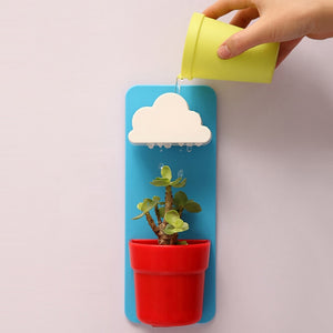 Plastic Hanging Garden Clouds automatic water for Succulent Plants
