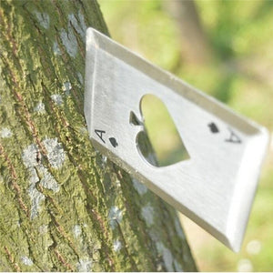 Ace Of Spades Bottle Opener Multitool