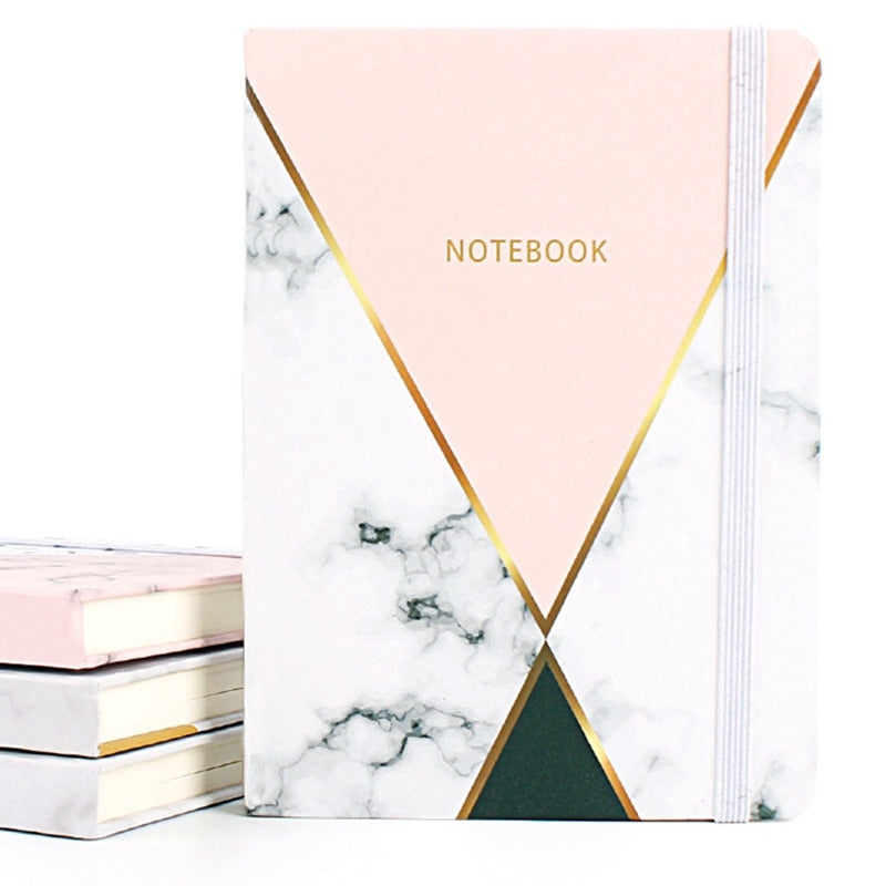 Creative Marble A7 A6 Notebook Student Pocket Notepad Stationery Portable Office Supplies School Stationery 96 Sheets Diary