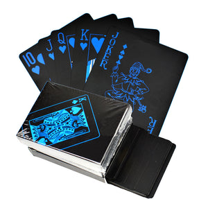 🃏Waterproof PVC Black Playing Cards🃏