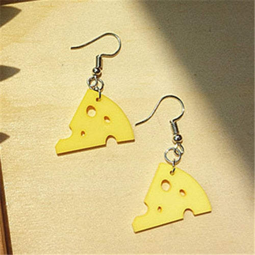 👂🧀Big Cheese Earrings🧀👂