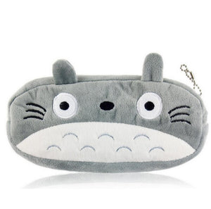 20CM Plush Coin Purse Keychain Makeup Bag