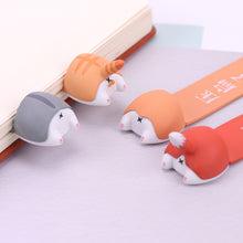 Load image into Gallery viewer, Kawaii Dog Cat Hamster Fox Butt Bookmarks