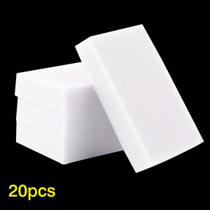 20Pcs Multi-function Magic Eraser Melamine Sponge
