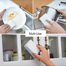 Load image into Gallery viewer, 20Pcs Multi-function Magic Eraser Melamine Sponge