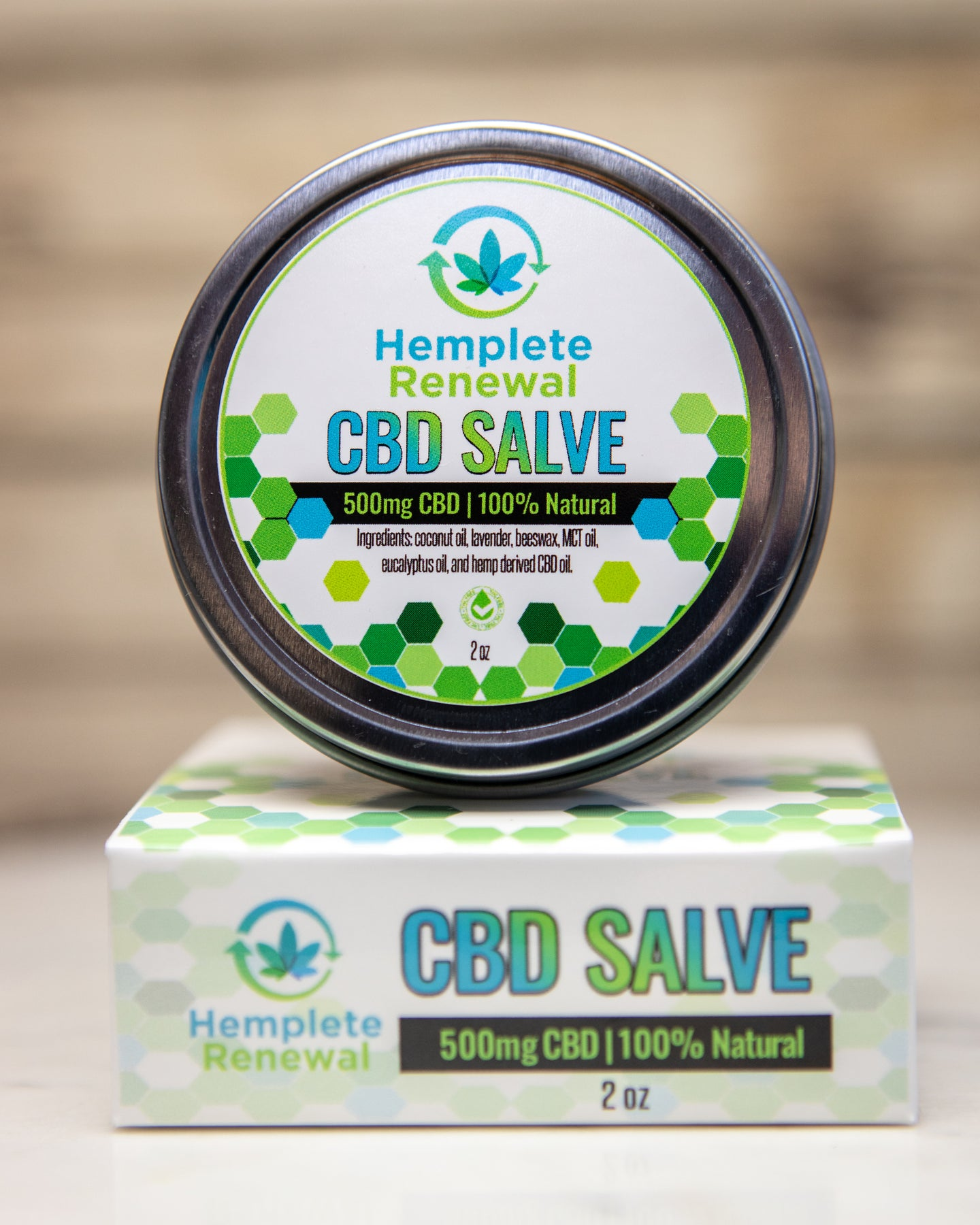 500 mg CBD Salve
