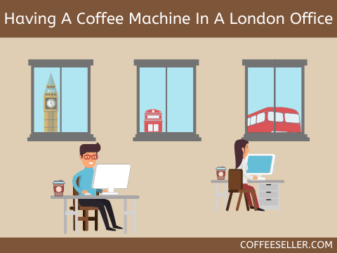 Having a coffee machine in a London office