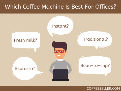Which coffee machine is best for offices?