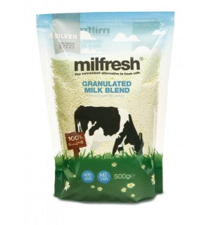 Milfresh Silver Granulated Skimmed Milk Powder  (10 x 500g) - Coffee Seller