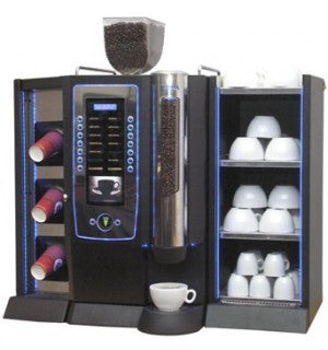 DarenthMJS Roma Bean to Cup Coffee Machine with Cup Display & Cup Warmer - Coffee Seller