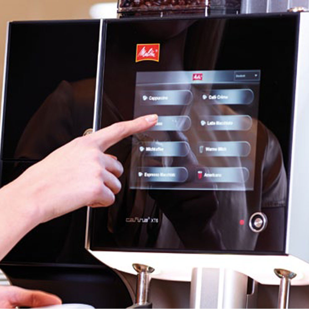 Melitta XT6 Coffee Machine touch screen