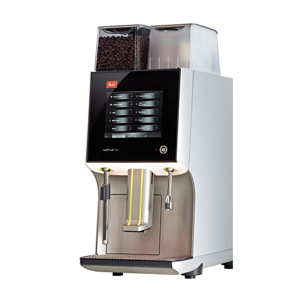 Side view of Melitta XT6 Coffee Machine