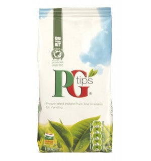PG Tips Freeze Dried Instant Tea Granules (10 x 100g) - Coffee Seller