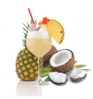 Pina Colada Cocktail Slush Syrup (4 x 5L) - Coffee Seller