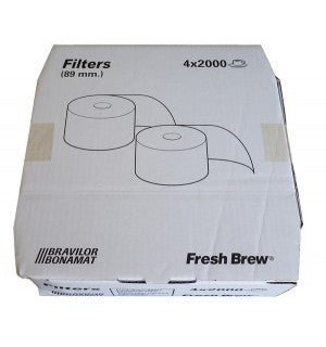 Bravilor FreshBrew Filter Rolls (4) - Coffee Seller