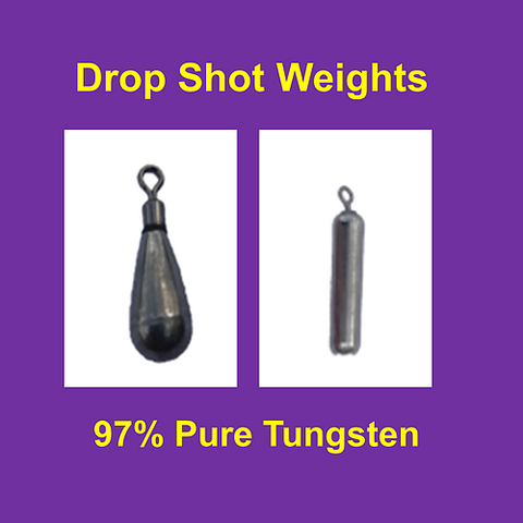 Queen Tackle Dropshot tear weight