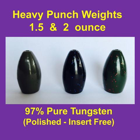 Queen Tackle Heavy Punch Weights
