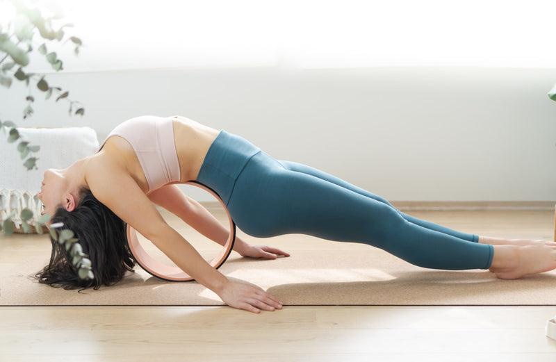Yoga Tights Teal Grønn