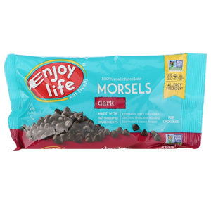 Enjoy Life Foods Regular Size Morsels, Dark Chocolate 黑巧克力釘 9 oz (255 g)