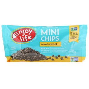 Enjoy Life Foods Dairy-free Chocolate Chips 無奶半甜巧克力釘 10 oz (283 g)