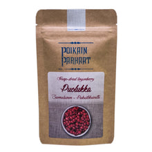 Load image into Gallery viewer, Poikain Parhaat Freeze-dried Lingonberry 芬蘭原粒凍乾越橘 15g