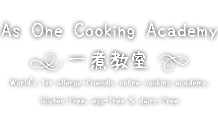 as one cooking academy allergy-friendly online cooking school